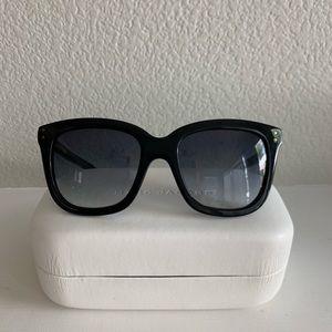 Marc Jacobs Black Wayfair/Cat eye Sunglasses